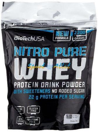 BioTech Nitro Pure Whey Gold, 2.27 кг