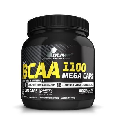 Olimp BCAA 1100 Mega Caps, 300 капсул