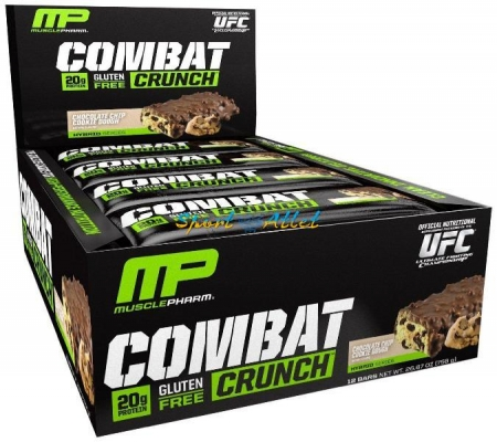 MusclePharm Combat Crunch Bar 63 гр, 12 шт/уп