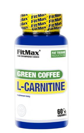 FitMax Green Cofee L-Carnitine, 60 капсул
