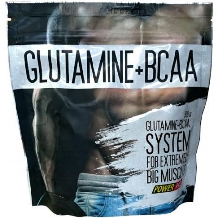 Power Pro Glutamine + BCAA, 500 грамм