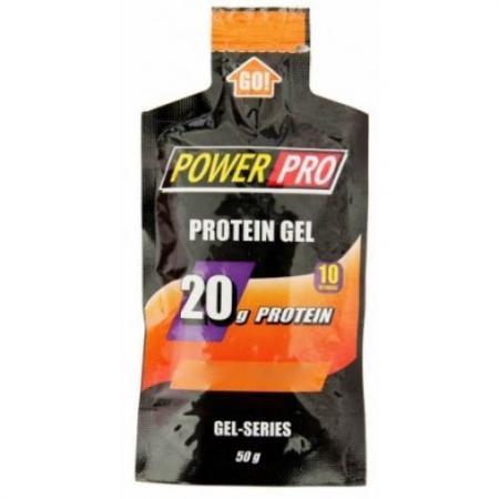Power Pro Protein Gel, 1 пакетик - одна порций
