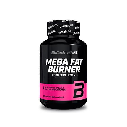 BioTech Mega Fat Burner, 90 таблеток - For Her