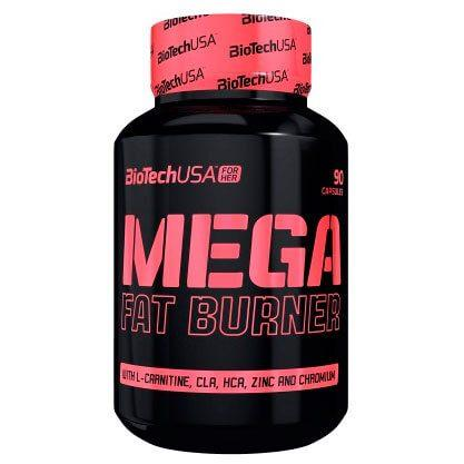 BioTech Mega Fat Burner, 90 таблеток