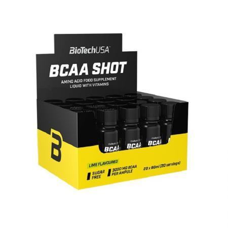 BioTech BCAA Shot, 20х60 мл