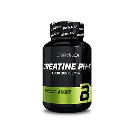 BioTech Creatine pHX, 90 капсул