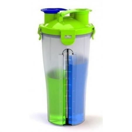 Шейкер Optimum Dual Shaker (двухсекционный), 800 мл-1