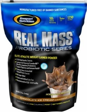Gaspari Real Mass Probiotic, 5.4 кг