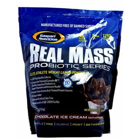 Gaspari Real Mass Probiotic, 2.7 кг