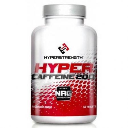 HyperStrenght Hyper Caffeine 200, 60 таблеток