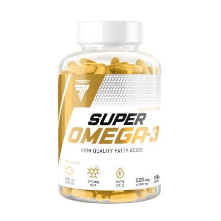 Trec Nutrition Super Omega-3, 120 капсул