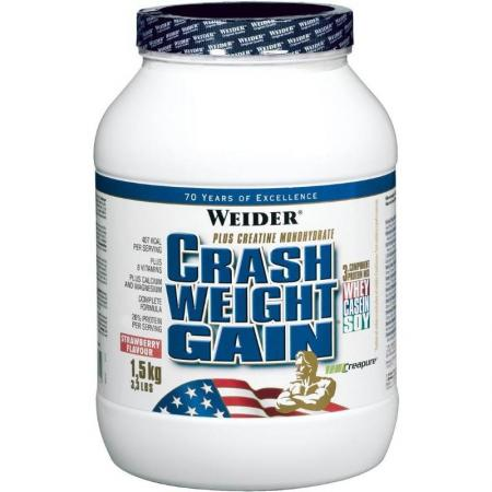Weider Crash Weight Gain 1.5 кг