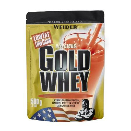 Weider Gold Whey, 500 грамм