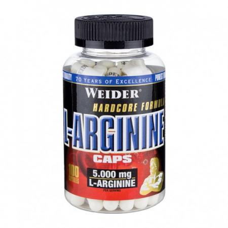 Weider L-Arginine, 100 капсул