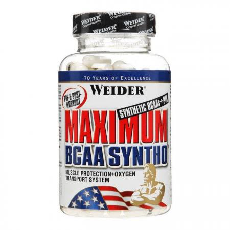 Weider Maximum BCAA Syntho, 120 капсул