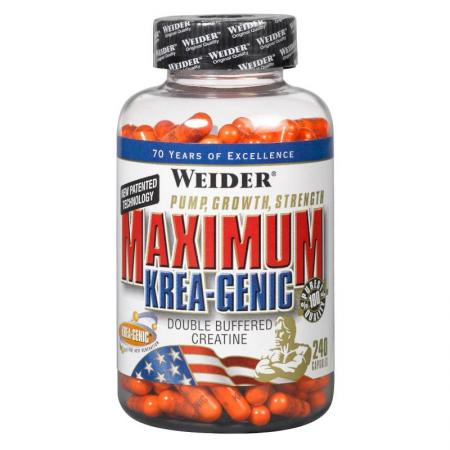 Weider Maximum Krea-Genic, 240 капсул