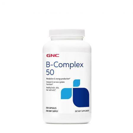 GNC B-Complex 50, 250 capsules