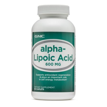 GNC Alpha-Lipoic Acid 600, 60 каплет