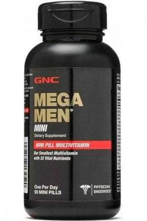 GNC Mega Men Mini, 90 таблеток