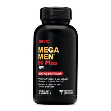 GNC Mega Men 50 Plus Mini, 90 таблеток