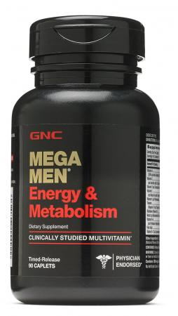 GNC Mega Men Energy and Metabolism, 90 каплет