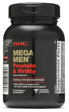 GNC Mega Men Prostate and Virility, 90 каплет