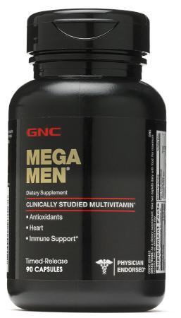 GNC Mega Men Capsules, 90 капсул