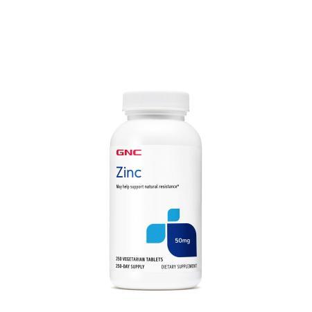 GNC Zinc 50 mg, 250 вегатаблеток