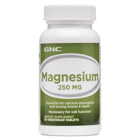 GNC Magnesium 250, 90 таблеток