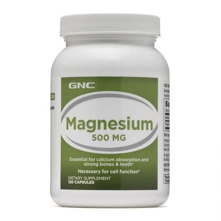 GNC Magnesium 500, 120 капсул