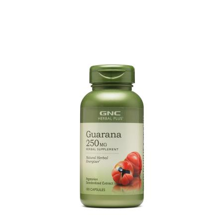 GNC Herbal Plus Guarana 250 mg, 100 капсул