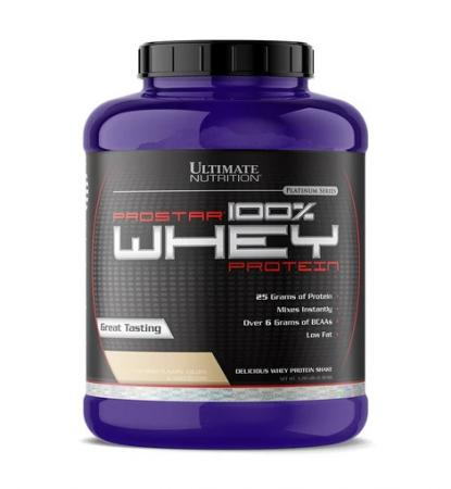 Ultimate Prostar 100% Whey Protein, 2,27 кг