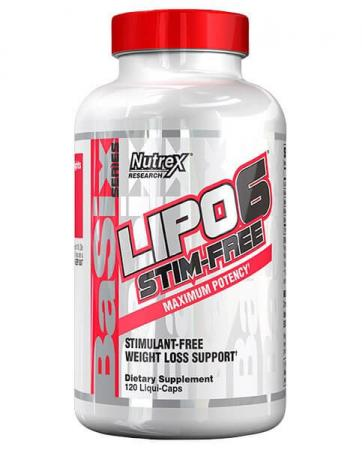 Nutrex Research Lipo-6 Stim Free, 120 жидких капсул