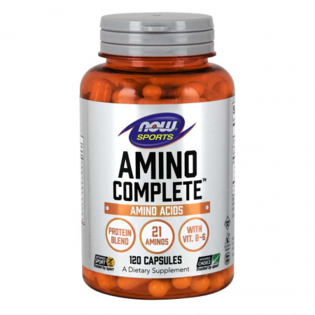 NOW Amino Complete, 120 капсул