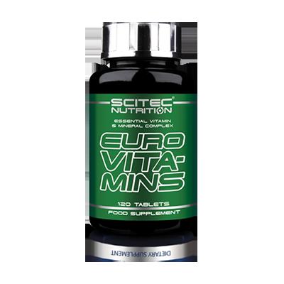 Scitec Euro Vita-Min, 120 таблеток
