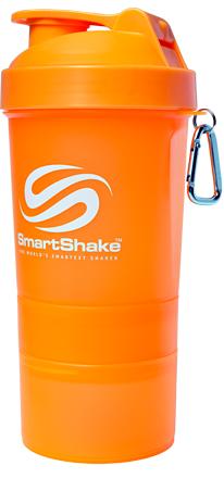 Шейкер Smart Shake, 400 мл - оранжевый