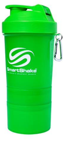 Шейкер Smart Shake, 400 мл - салатовый