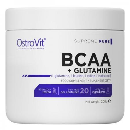 OstroVit BCAA + Glutamine, 200 грам