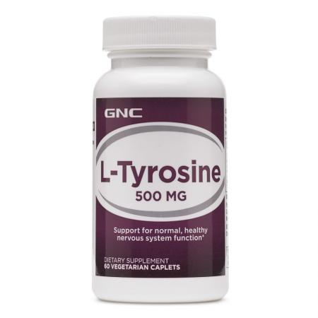 GNC L-Tyrosine 500, 60 каплет