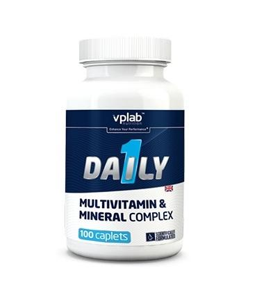 VPLab Daily Multivitamin, 100 каплет