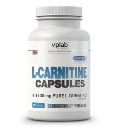 VPLab L-Carnitine 1500 mg, 90 капсул