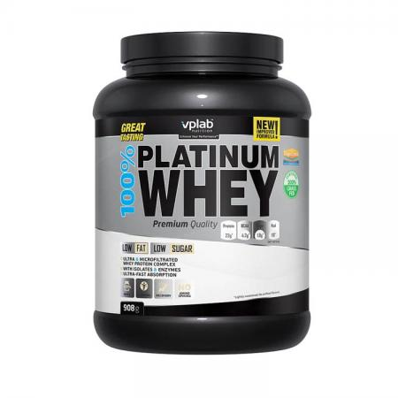 VPLab 100% Platinum Whey, 900 грамм