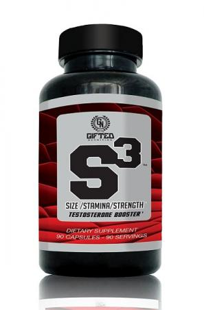 Gifted Nutrition S3 Testosterone Booster, 90 капсул