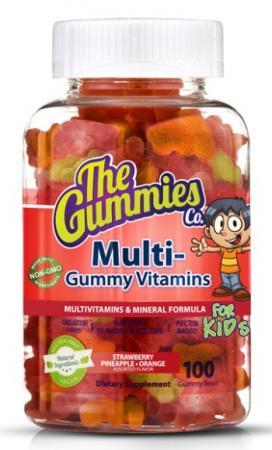 The Gummies Co Kids Multi Vitamin, 100 желеек