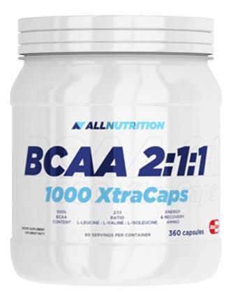 AllNutrition BCAA 2:1:1 1000 Xtra Caps, 360 капсул