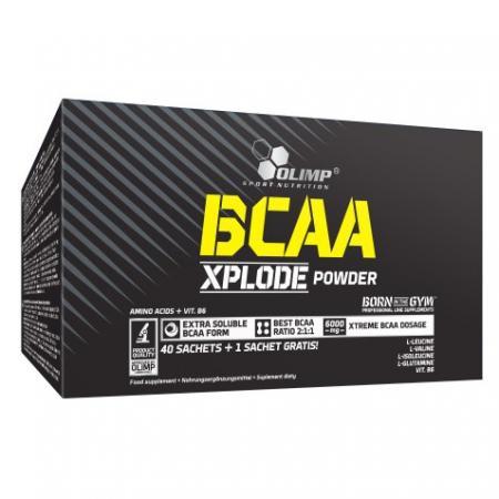 Olimp BCAA Xplode, 41 пакетик