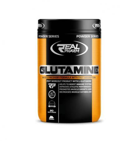 Real Pharm Glutamine, 500 грамм
