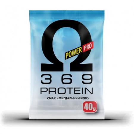 Power Pro Omega 3 6 9 Protein, 40 грамм