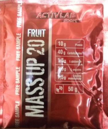 ActivLab Mass Up 20, 50 грамм