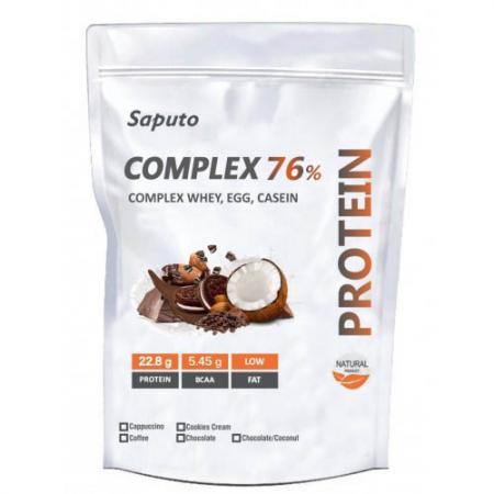 Saputo Complex 76% (Whey, Egg, Casein), 900 грамм